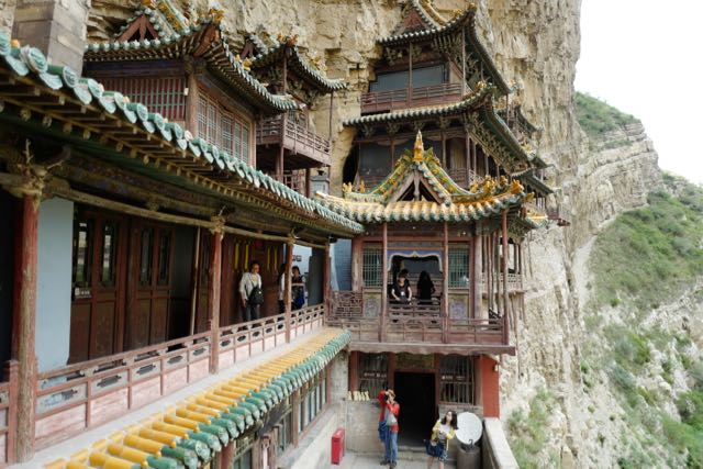 End of Day 1 – The Hanging Monastery