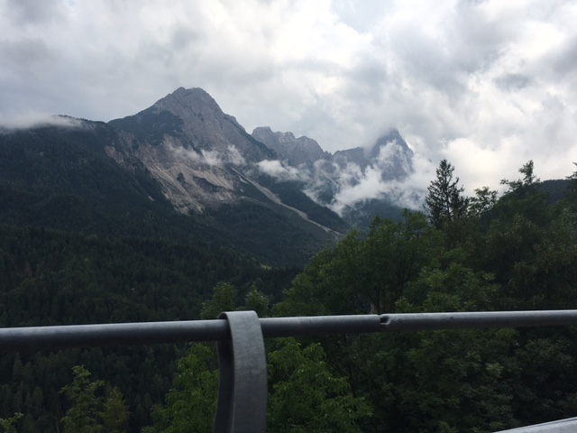 Day 32: The Dolomites and the heavens opened