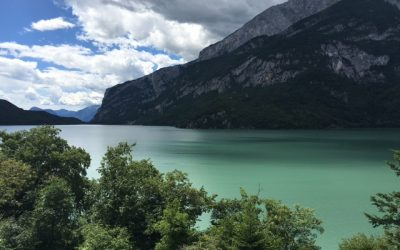Day 33: Lunch on Lake Molveno
