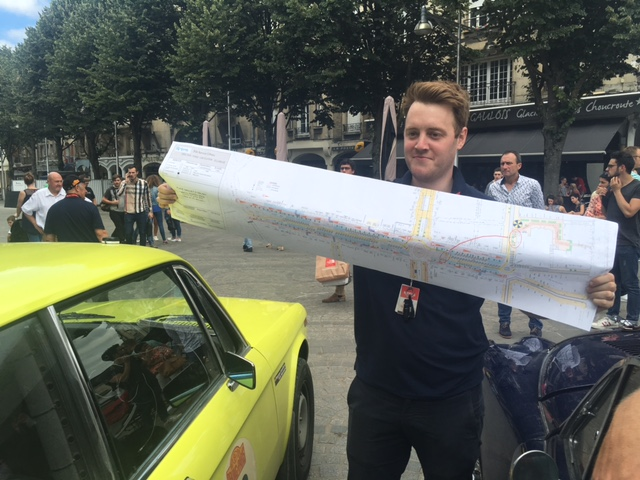 Day 35: Reims -the medics (fail to) get to grips with the parking plan