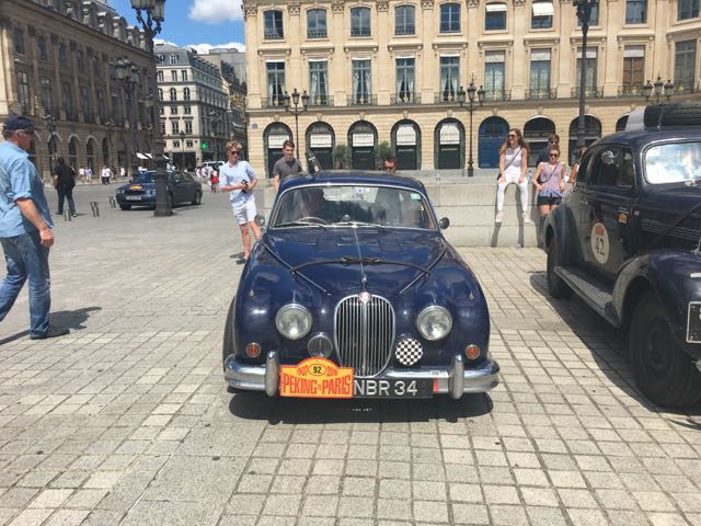 Day 36: Parking in the Place Vendome for the night